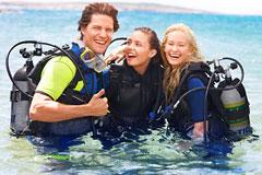 diving wet suits